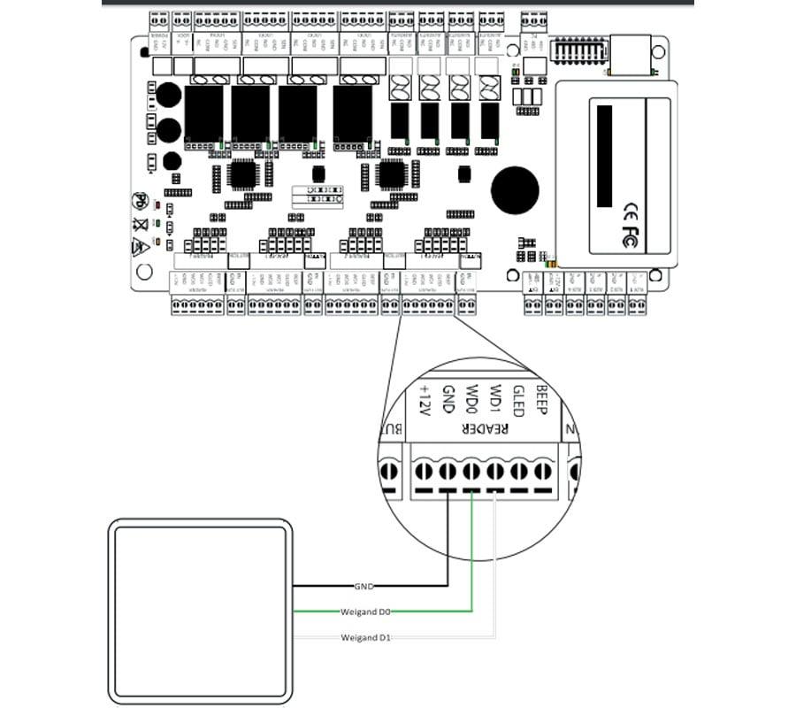 ZKTECO UHF5F - Lector de Tarjetas UHF / Encriptada / Lectura de 1 a 5 Mts /  Compatible con ZTA151005 y ZTA151004 / Requiere Fuente TVN0830052 - TVC En  Línea.com